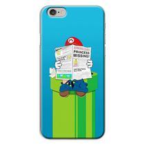 Capa para iPhone 4 e 4S - Mario Lendo Jornal - Mycase