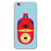 Capa para iPhone 4 e 4S - Minions  Spider Man - Mycase