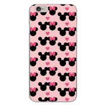 Capa para iPhone 4 e 4S - Minnie e Mickey  Love - Mycase