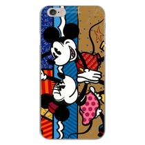 Capa para iPhone 4 e 4S - Minnie e Mickey  Romero Britto - Mycase