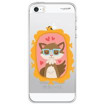 Capa para iPhone 4 e 4S - Mycase Cat -