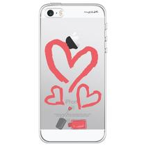 Capa para iPhone 4 e 4S - Mycase Coração de esmalte -