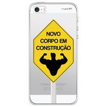 Capa para iPhone 4 e 4S - Mycase Corpo em construção. -