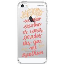Capa para iPhone 4 e 4S - Mycase Eu não escolho errado. -