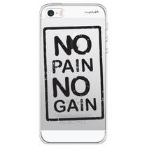 Capa para iPhone 4 e 4S - Mycase No pain no gain -