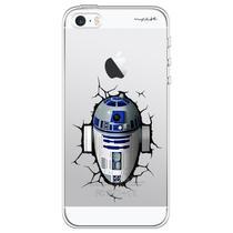 Capa para iPhone 4 e 4S - Mycase Star Wars R2D2 -