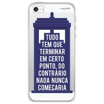 Capa para iPhone 4 e 4S - Mycase Tardis -