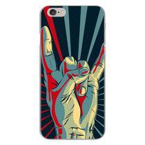 Capa para iPhone 4 e 4S - Rock Hand - Mycase