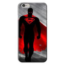 Capa para iPhone 4 e 4S - Super Man  Dark - Mycase