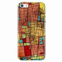 Capa para iPhone 5/5S Arte Colorida - Quero case