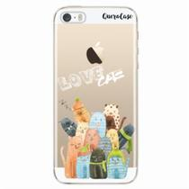 Capa para iPhone 5/5S Gatos Love Cats - Quero case