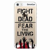 Capa para iPhone 5/5S Walking Dead - Fight The Dead - Quero case