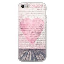 Capa para iPhone 5C - Coração Muro - Mycase
