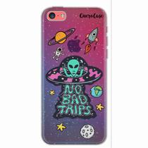 Capa para iPhone 5C ET UFO OVNI No Bad Trips - Quero case