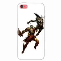 Capa para iPhone 5C God of War Kratos 04 - Quero case