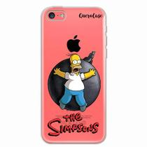 Capa para iPhone 5C Homer Simpsons 05 - Quero case