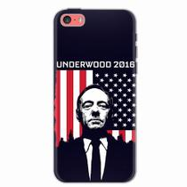 Capa para iPhone 5C House Of Cards Underwood 2016 - Quero case