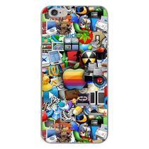 Capa para iPhone 5C - Ícones 2 - Mycase
