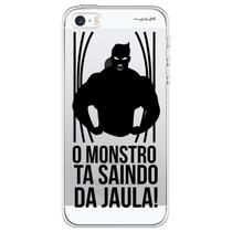 Capa para iPhone 5C - Mycase O monstro ta saindo da jaula. -