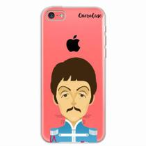 Capa para iPhone 5C The Beatles Paul McCartney - Quero case