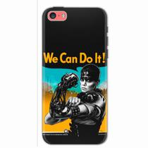 Capa para iPhone 5C We Can Do It! 01 - Quero case