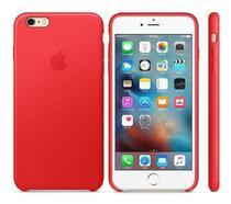 Capa para iPhone 6/6s em Silicone Vermelho -