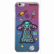 Capa para iPhone 6/6S Plus ET UFO OVNI No Bad Trips - Quero case