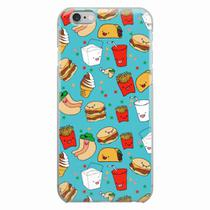 Capa para iPhone 6/6S Plus Fast Food 04 - Quero case