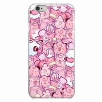 Capa para iPhone 6/6S Plus Pokemons Rosa - Quero case