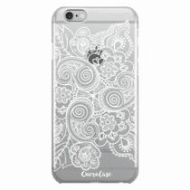 Capa para iPhone 6/6S Plus Renda Branca - Quero case
