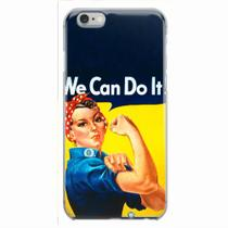 Capa para iPhone 6/6S Plus We Can Do It! 02 - Quero case