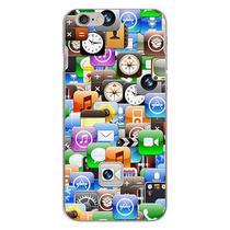Capa para iPhone 6 e 6S - Ícones - Mycase