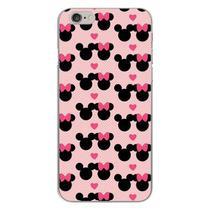 Capa para iPhone 6 e 6S - Minnie e Mickey  Love - Mycase