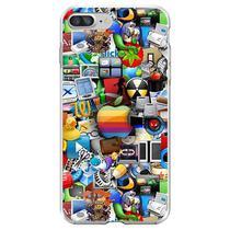 Capa para iPhone 6 Plus e 6S Plus - Ícones 2 - Mycase