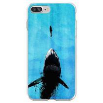 Capa para iPhone 6 Plus e 6S Plus - Tubarão - Mycase