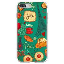 Capa para iPhone 6 Plus e 6S Plus - Vintage  Paris 2 - Mycase