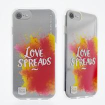 Capa Para iPhone 7/8/6/6S Plus Original Feminina Personalizada Love Spread Casestudi - Case studi
