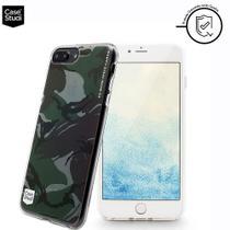 Capa Para iPhone 7/8/6/6S Plus Personalizada Camouflage Casestudi - X-doria