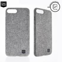 Capa Para iPhone 7/8 Plus Original Personalizada Slim Case Gray Casestudi - Case studi