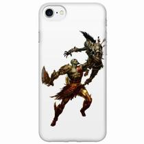 Capa para iPhone 7 God of War Kratos 04 - Quero case