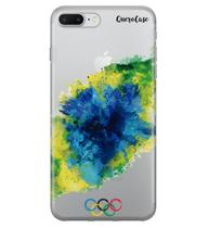 Capa para iPhone 7 Plus Aquarela Olímpica - Quero case