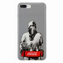 Capa para iPhone 7 Plus Coca Cola Molotov - Quero case