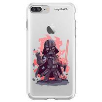 Capa para iPhone 7 Plus e 8 Plus - Mycase   Darth Vader -