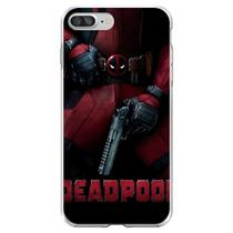 Capa para iPhone 7 Plus e 8 Plus - Mycase  Deadpool 4 -