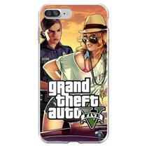 Capa para iPhone 7 Plus e 8 Plus - Mycase  GTA V  Modelo 4 -