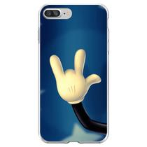 Capa para iPhone 7 Plus e 8 Plus - Mycase  Mickey  Mão -