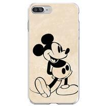 Capa para iPhone 7 Plus e 8 Plus - Mycase  Mickey  Preto -