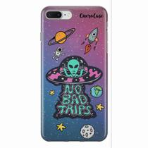 Capa para iPhone 7 Plus ET UFO OVNI No Bad Trips - Quero case