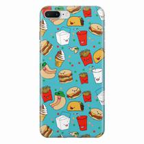 Capa para iPhone 7 Plus Fast Food 04 - Quero case