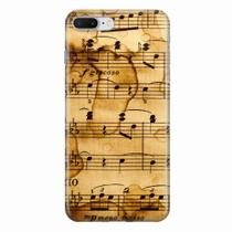 Capa para iPhone 7 Plus Partitura Musical 01 - Quero case